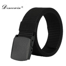 High Quality Automatic Buckle Nylon Belt Male Army Tactical Belt Jeans Mens Luxury Waist Designer Belts Men Strap Ceinture Femme