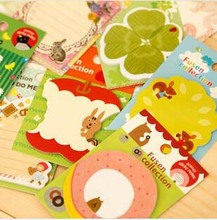 Free ship!50pc!Cartoon animal shaped sticky / N times stickers / cat apple note paper / notes book/ Memo pads/ Scratch Pad