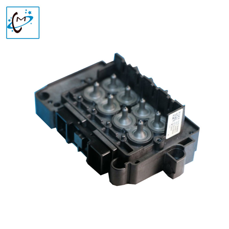 1pcs Dx7 printhead solvent manifold dx7 head adapter F189010 printhead solvent adapter cover for titanjet wit color printer part<br>