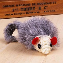 1pcs  Hot saleFalse Mouse Cat Toys Cheap Funny Playing Toys For Cats Kitten Contain Mint