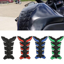Motorcycle 3D Rubber Tank Protector Pad For Kawasaki ZX7R / ZX7RR ZR750 ZX9R ZX10R Z750 Double-sided Adhesive Sticker Tankpad