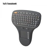 N5903 2.4GHz RF Wireless Multimedia Keyboard Touch Pad Air Flying Mouse Mice Keyboard Keypad for TV Box/Android MINI PC