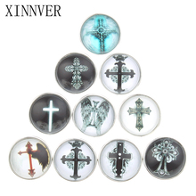 Buy 10pcs/lot Mix OEM Print 18mm Snap Buttons Jewelrys Cross Glass Snaps Fit Snaps Bracelets Xinnver Snap Jewelry Necklace ZB306 for $3.00 in AliExpress store