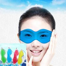 Gel Ice Eyeshade Cool Eye Mask Pack Warm Heat Soothing Tired Eyes Headache Patch 4 colors 3JU27