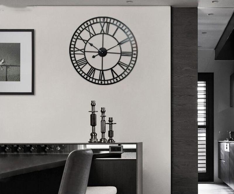big clock wall mirror wall clock (6)