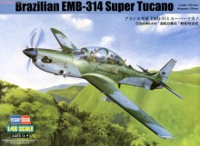 Hobby Boss Model 81727 1/48 Brazilian EMB-314 Super Tucano Plastic military static model kits