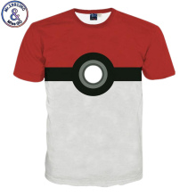 Brand Clothing Fashion New Design T Shirt Pokemon Funny Cool T-shirt Short Sleeve Anime 3D Print Tshirt Homme Camiseta Men Women