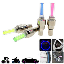 1 Pair Mix Color Firefly Effect LED Lamp Flash Tyre Wheel Valve Cap Light For Car Bike Bicycle Motorcycle Cycling Drving