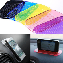 2Pcs Universal Car Dashboard Magic Anti Slip Mat Non-slip Sticky Pad Key Cellphon Non Slip Pad Car Sticker GPS Holders(China)