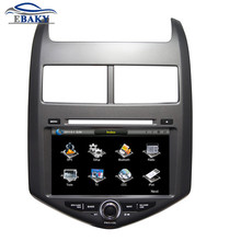 8 inch Professional Wince Car Multimedia DVD Player For Chevrolet AVEO 2011- With GPS Navigation free Map