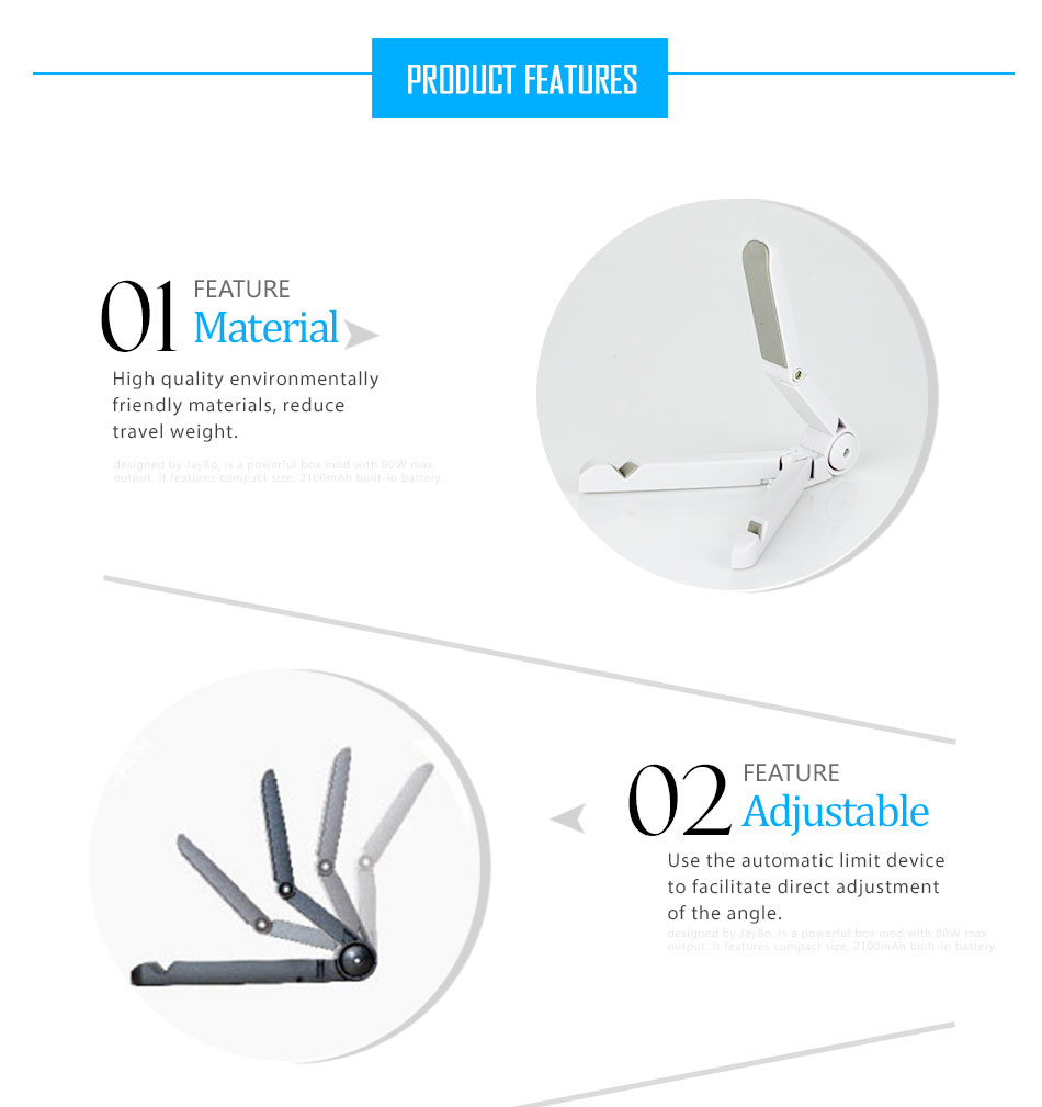 Mrs win Universal Foldable Phone Tablet Holder Desk Stand Adjustable Tripod Stability Support for iPhone iPad Pad Tablet Huawei 7