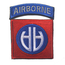 AIRBORNE Tactical Patch The 101 Air Assault Division AA Armband Badge US Army Military Morale Patch Embroidered Decorative Badge(China)