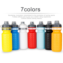 600ML Bicycle Water Bottle MTB Cycling Camping Cycling Bicycle Plastic Flask Outdoor Bike Kettle Riding Cup 7 Color Dropshipping