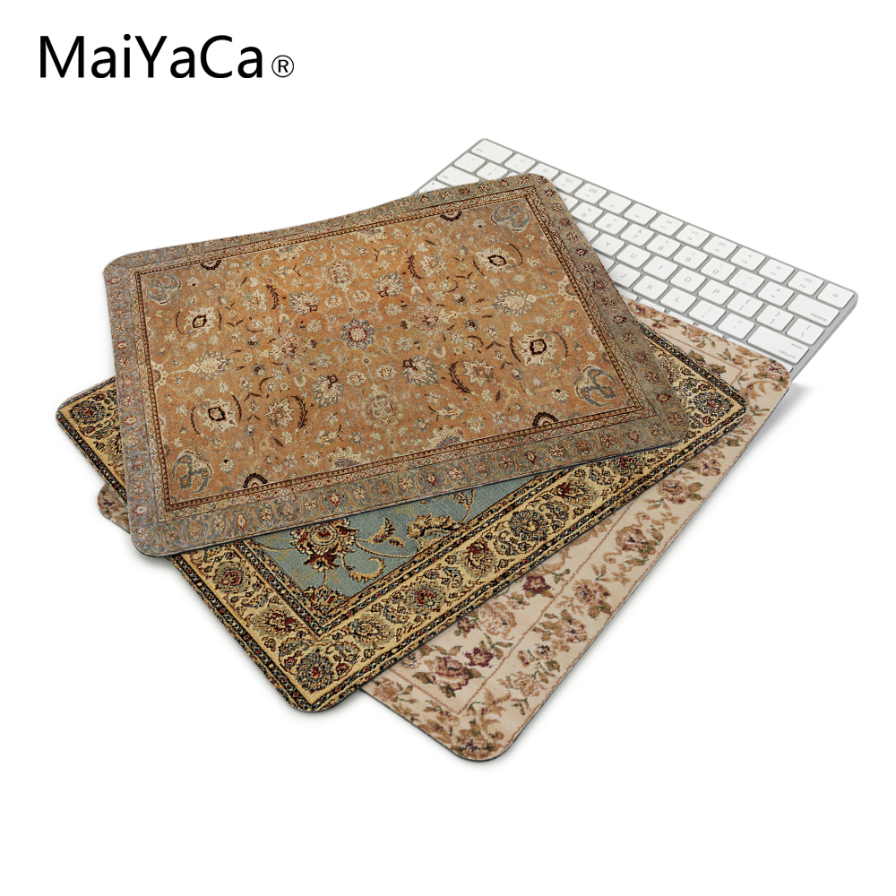 MaiYaCa NEW Customized Supported Fashion Design Cool Persian Rugs Mouse Mats Anti-Slip Rectangle Mouse Pad 250X290 MM 1