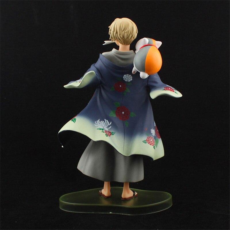Anime Natsume Yuujinchou Nyanko Sensei Takashi Cat Neko PVC Action Figure Model Toys Cute Figuras Dolls Gift 20cm  (6)