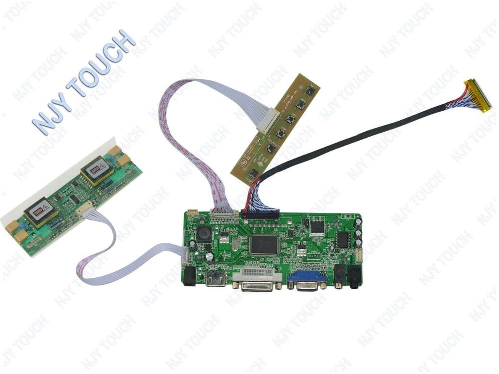 Free Shipping HDMI DVI VGA AUDIO LVDS Controller Board for 22 inch LTM220M1-L01 1680X1050 4CCFL LVDS LCD Screen<br>