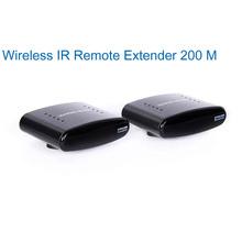 433MHZ Wireless IR Remote  Extender Wireless Transmitter  Receiver 200 meters AV sender and receiver Free Shipping