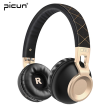 Buy Picun Bluetooth Headphones Stereo Wireless Headset Portable Earphones Microphone Phone Music Wireless Headphones for $36.79 in AliExpress store