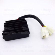 12V 6 wires DC Voltage Regulator Rectifier GY6 150cc 200cc 250cc Dirt Pit Bike Scooter ATV Go Kart Motor Moped Buggy Motorcycle(China)