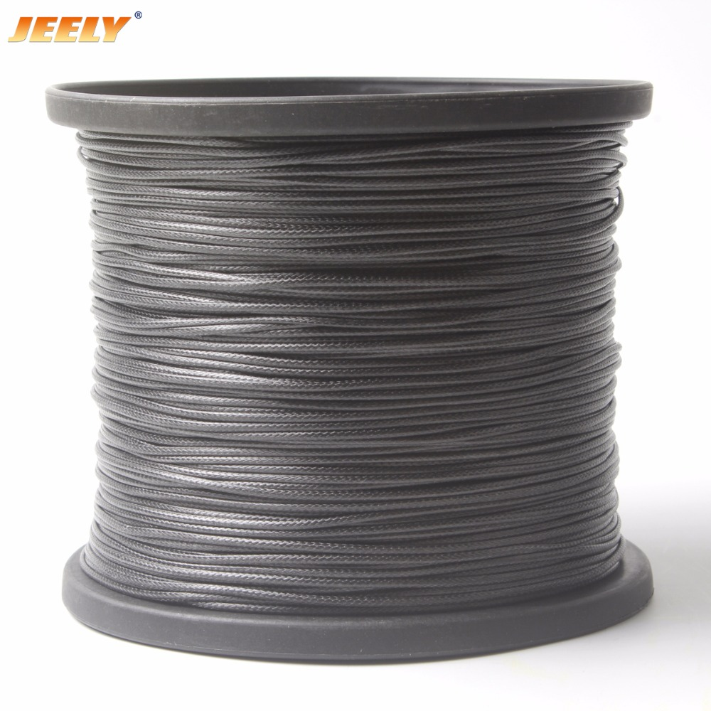 Black 4MM Braided Dyneema Line Cord for Sailing Hiking Camping Boating Outdoor