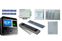 Networking Fingerprint Biometric Access Control kit + Power Supply + RFID Card + Magnetic Lock (HF-MJTP102)