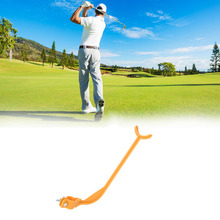 1Pc Golf Practice Swing Educational Trainer Guide Gesture Alignment Training Wrist Correct Aid Plane Tools Club practicing guide