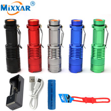 LED Tactical Flashlights LED Portable Diving Torch Lamp Lantern linterna Powerful Waterproof Military Police Led Flashlights(China)