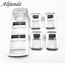 Car Interior Matt Chrome Door Window Switch panel cover trim Mercedes Benz C GLK Class W176 W246 W204 W212 W218 X204 - CarClub store