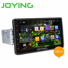 "JOYING New Android 5.1 Universal Single 1 DIN 7"" Car Radio Stereo Quad Core Head Unit Support PIP Steering Wheel Camera OBD2 DVR"