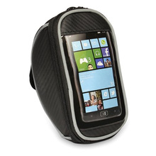 "Good deal Cover Case Bag Bike Handlebar Bag for Cell Phone 4.8 ""Black"