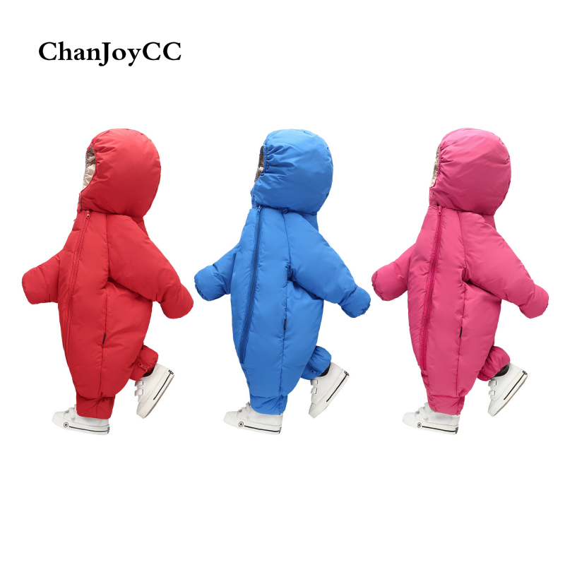 2017 Winter Baby Girl Boy Romper Costume Kids Comfortable Clothes Long-sleeve Baby Solid Rompers Jumpsuit<br>
