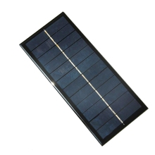 High Quality 2.5W 6V Solar Panel Small Solar Cell DIY 3.7V Solar Battery Charge Solar Led Light 213*92*3MM Free Shipping(China)