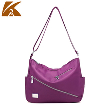 mom waterproof nylon cell phone bag small ladies handbags for women shoulder bag travel handbag vintage sac messenger bag blue
