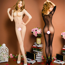 New Sexy Oil Socks Transparent High Cut Bodysuit Wet Look Babydoll for Women Sexy Lingerie Hot Sex Erotic Leotard Thong Detail