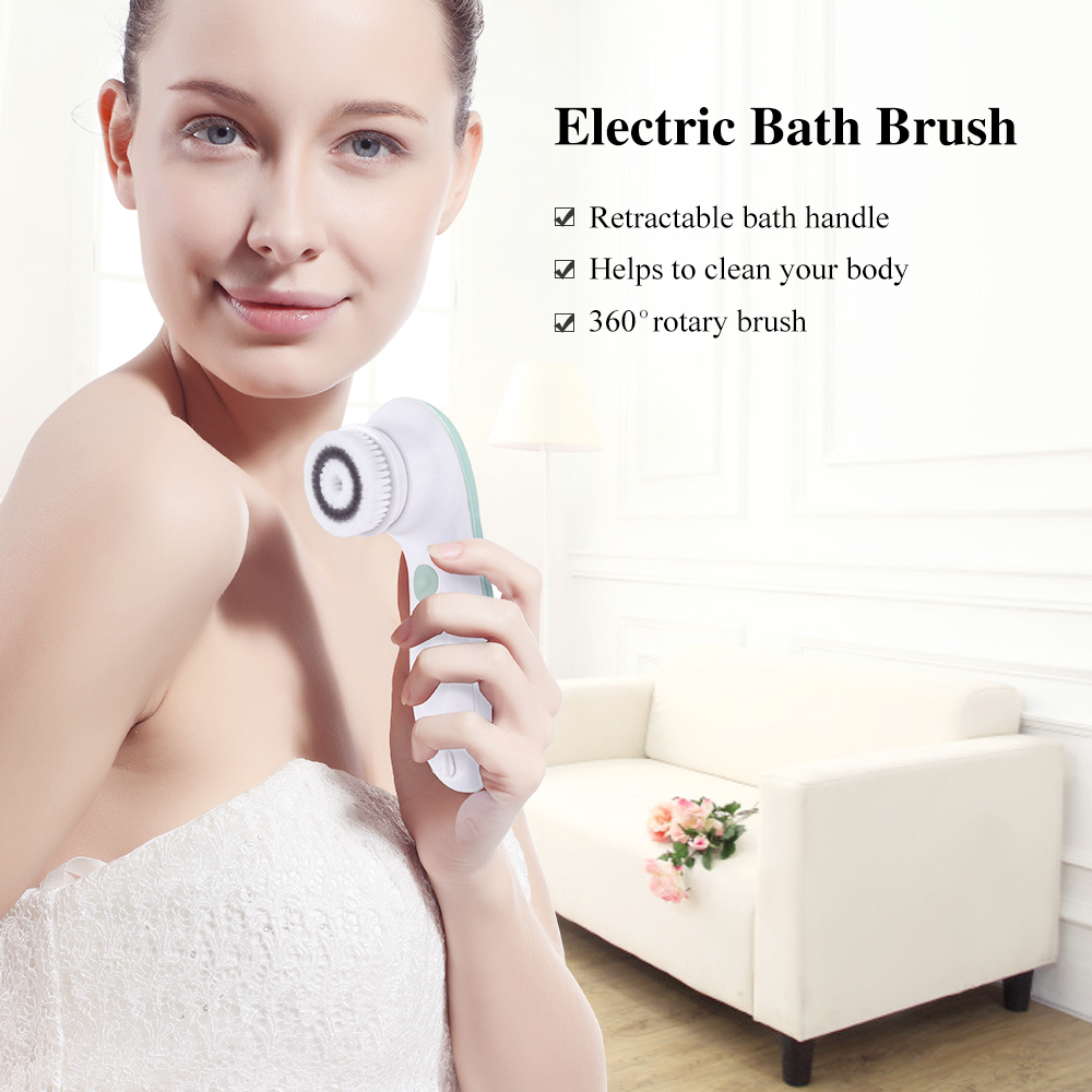 TOUCHBeauty facial cleansing brush&body brush 2 in 1 face and shower back brush TB-07599 5
