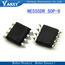 50PCS NE555DR SOP8 NE555 SOP NE555DT SMD new and original IC free shipping