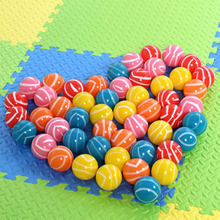 50 pcs/lot 7 cm Baby Antistress Stress Air Ocean Ball FunnyToy Sport Play Pit Soft Plastic Eco-Friendly Colorful Pool Balls(China)