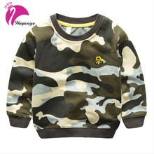 New Child Camouflage Sweatshirt Outerwear Baby Children's Casual Pullover Clothing Fashion Cotton Kids Hoodies Spring Autumn Hot