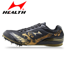 Health Spikes of sprint for men spike running shoes women nail training woman sport shoes male sport sneakers free shipping