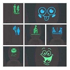 1pc Luminous Cartoon DIY Switch Sticker Wall Sticker Decoration Fluorescent Living Room Children Room Home Decor Fairy Cat Moon