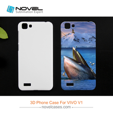 Wholesales China Sublimation Plastic 3D Mobile Phone Cover Case For Vivo V1(China)