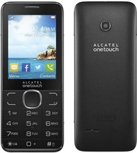 Original Alcatel 2007X Feature Phone GSM 2.4 Inches 3MP Back Camera Video Audio FM Radio TF Card 750mAh Battery