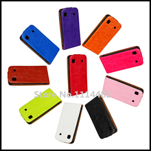 Vertical Flip Crazy Horse Leather Case Cover For Samsung Galaxy S i9000 / Galaxy S Plus i9001 + Free Shipping(China)