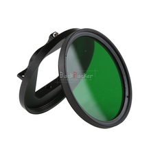 2017 NEW Mini Camcorder Camera Lens Filter Adapter Red/Orange/Yellow/Green/ND2 4 8 16 52mm for Gopro Hero 5 Black