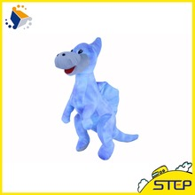 Free Shipping 1pcs 16Inch Cute Walking Dinosaur Plush Animal Toy Soft Doll Baby Toys Birthday Gifts for Children ST399