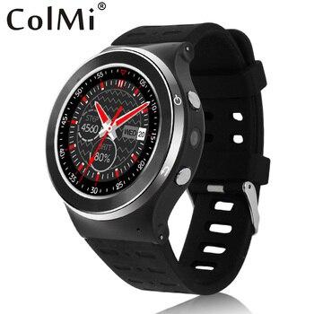 Colmi vs104 mtk6580m de smart watch android 5.1 gps wifi 512 mb ram 4g rom soporte de tarjeta sim 3g de la red smartwatch