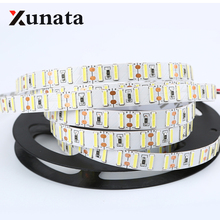 120leds/M white led strip SMD 8520 Double chip DC12V 5M 600LEDs flexible led rope bar light indoor outdoor decoration light(China)