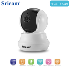 Buy Sricam SP020 Wireless IP Camera HD 720P H.264 Home Mini Camera ecurity Motion Detection Smart Security Camera Night vision for $32.49 in AliExpress store