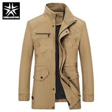 Fast Delivery Men Slim Fit Jackets Brand New Winter Coats Big Size M-4XL Man Fashion Outerwear Khaki / Black / Army Green
