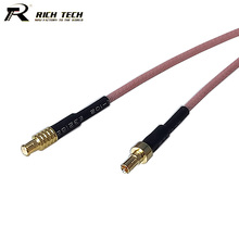 10pcs Straight CRC9 to Straight MCX Male Connector RF Pigtail Cable RG316 CRC9 MCX Cable Assembly 15cm/50cm/100cm/200cm/300cm